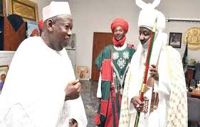 After Years Of Tussle Gov. Ganduje Makes Emir Sunusi Happy For The First Time