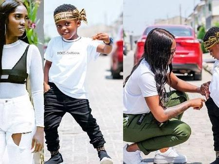 Meet The Real Father Of Popular Singer, Tiwa Savage's Only Child (Photos)