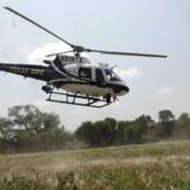 Chopper Makes An Emergency Landing In Igare In Kisii County
