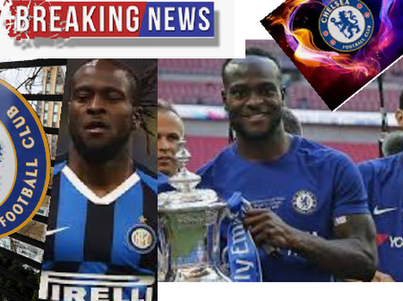 Just In: Victor Moses Could Make A Potential Return To Chelsea