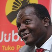Caleb Kositany Ousted As Jubilee Deputy Secretary General