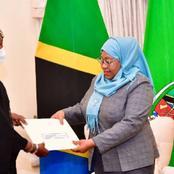 President Uhuru Invites, President Samia Suluhu to Kenya