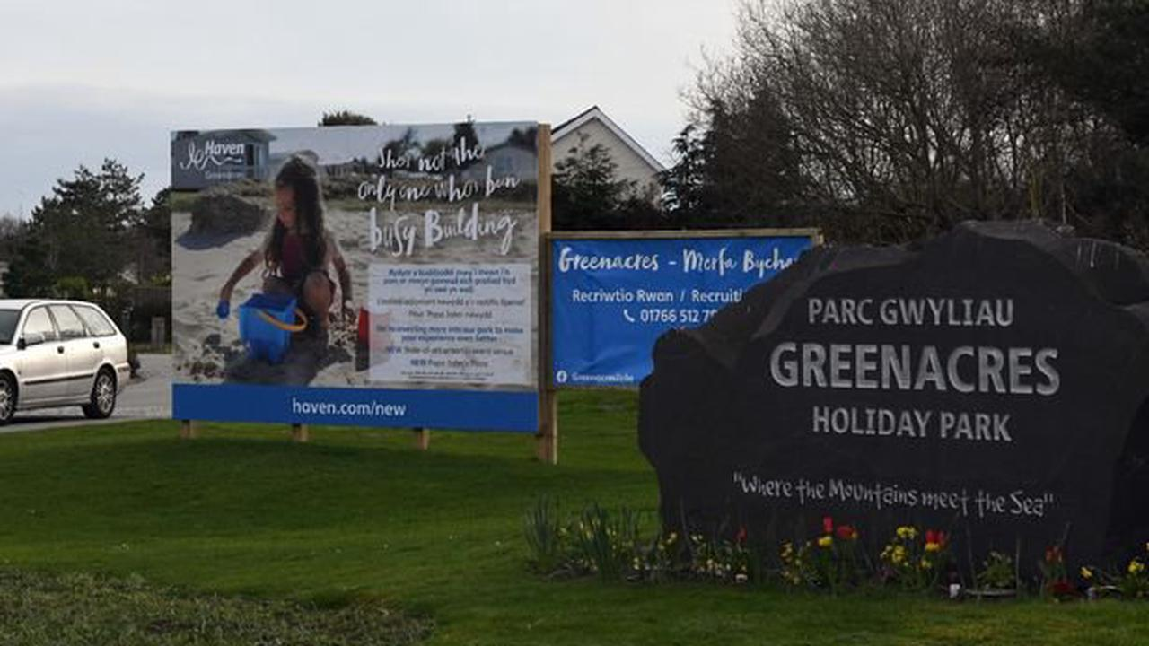 Staff at Welsh holiday park told to self-isolate