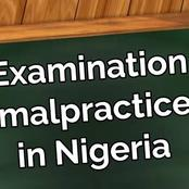 An open letter to all students who engage in examination malpractice.