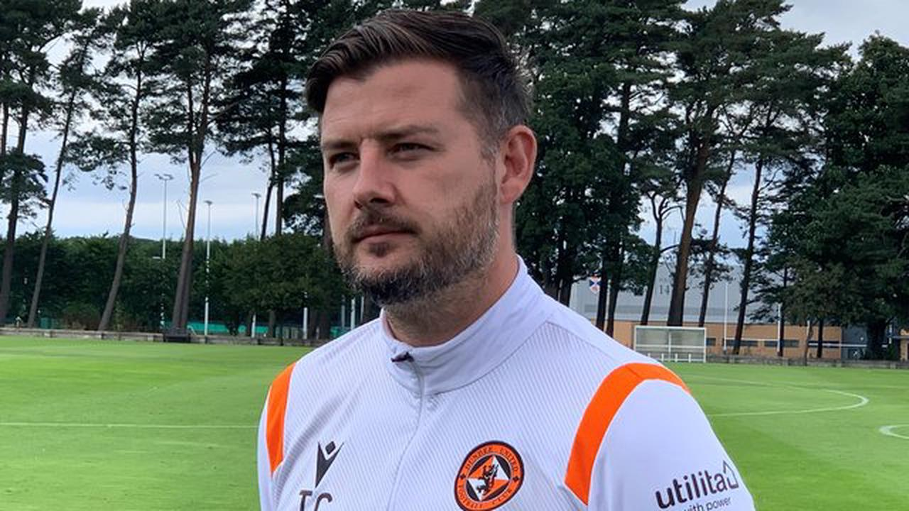 Dundee United boss Tam Courts embracing goalkeeping dilemma ahead of derby clash