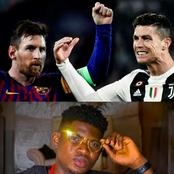 After Ronaldo became the top goalscorer in football history yesterday, see how his fan mocked Messi
