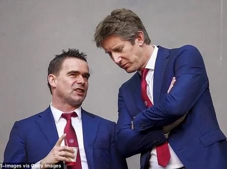 Manchester United May Be Ready To Rob Ajax Of Successful Duo, Overmars And Van der Sar