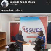 Reactions As Babajide Otitoju Unveil His New On-Air Adventure On All Social Media Platforms