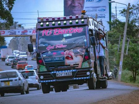 Meet Latest Matatu With Stunning Graffiti