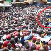 Ruto Wins The Heart Of Murang'a Youths Who Gifted Him This In Solidarity Of Hustlers Narrative