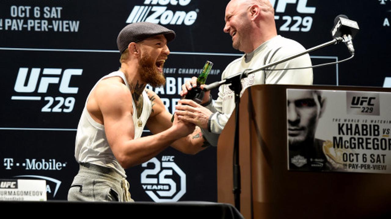 Dana White talks UFC 257: Conor McGregor vs. Dustin Poirier
