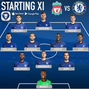 Opinion: Chelsea Would Stay Unbeaten Against Liverpool If Tuchel Uses This Lineup