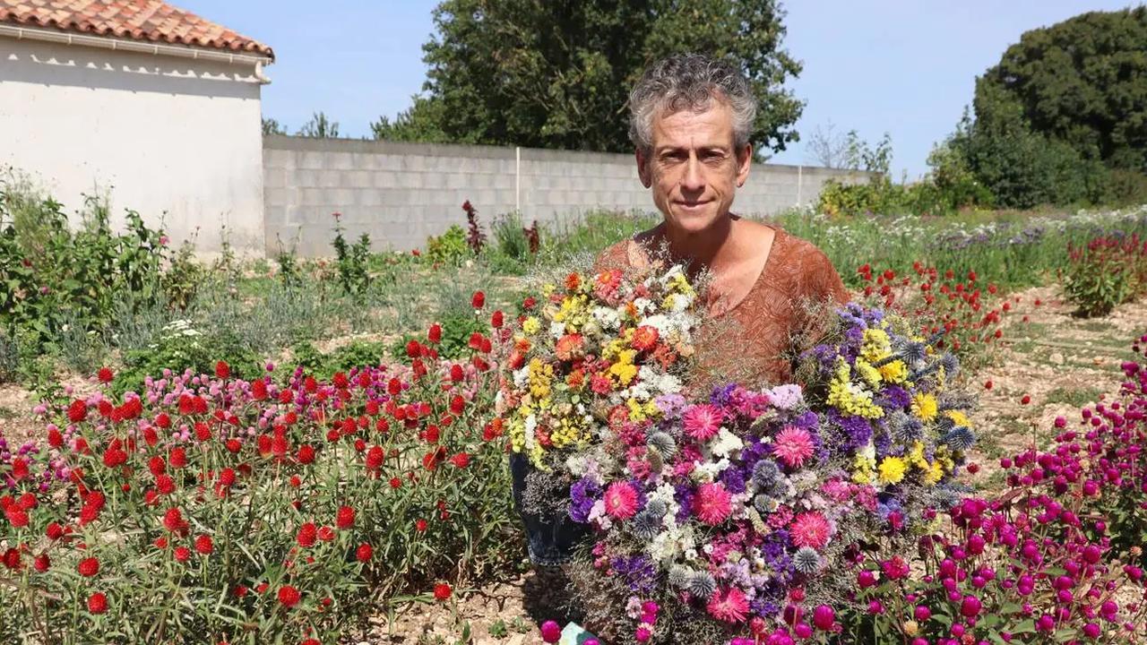Vendée. Pour cette horticultrice, les fleurs séchées n'ont aucun secret