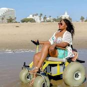 This Beautiful Lady Has Been On A Wheelchair For Over 12 Years But She Slays Better Than Some Ladies