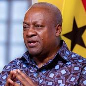 I took vaccine publicly to assure Ghanaians of its safety – Mahama