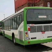 Bouaké : Les bus de la SOTRA font leur entrée triomphale dans la ville