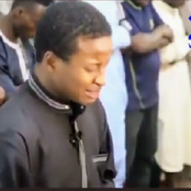 Video: See The Moment A Muslim Boy Almost Wept Amid Other Clerics As He Leads Ramadan Prayers