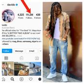 Check Out 5 Nigerian Celebrities With The Highest Instagram Followers in 2021