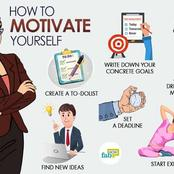 Motivate Yourself Using These Steps