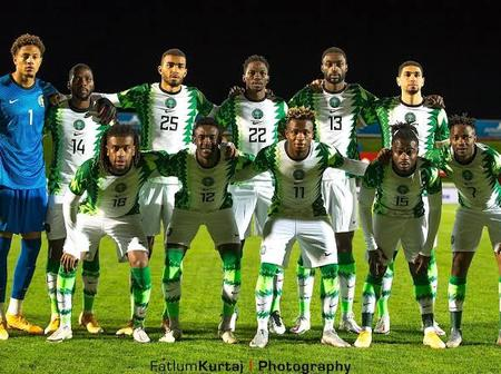 Fifa World Ranking 2021: see Nigeria current position