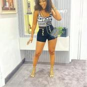 Mercy Eke Looks Stylish With Her Chanel Bag