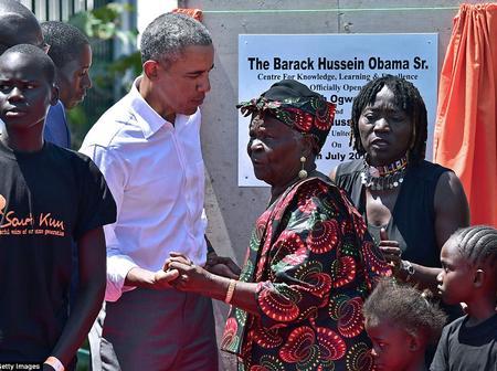 Barack Obama Grandmother Sarah Obama Is Dead