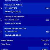 Stake On These Four Matches To Win Big This Late Night