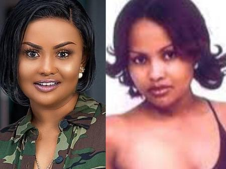 Throwback photos of Nana Ama McBrown. See how much she has transformed