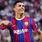 Cristiano Ronaldo Heading To Camp Nou.