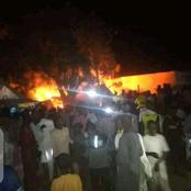 Millions Lost As Fire Razes Potiskum Main Market In Northern Nigeria