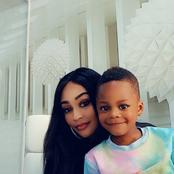 Weekend Vibes: Photos of Zari Hassan Hanging Out With Her Children At The Office