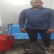 Drug Trafficker Caught Excretes 113 rolls Of Cocaine Which Worth More Than 423 Million Naira