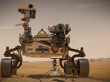 NASA Perseverance Touched Down on Mars