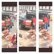 Video: Check Out What Alleged 'Yahoo' Boys Were Caught Doing In Public That Sparked Reactions Online