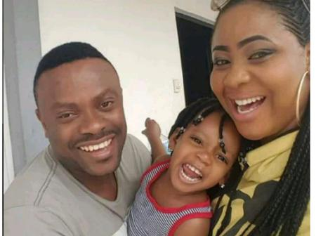 Photos; Check Out The Lovely Family Of Nollywood Actor, Ime Bishop