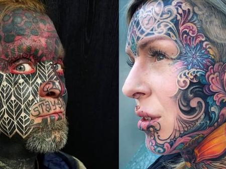 Strange: See What These People Did To Their Bodies All In The Name Of Tattoos