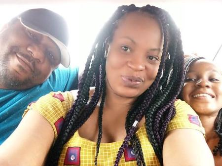 Photos: See the beautiful family of Nollywood Actress Maureen Solomon (her husband & 3 children)