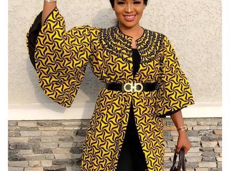 Adorable Ankara Kimono Jacket Styles For Ladies