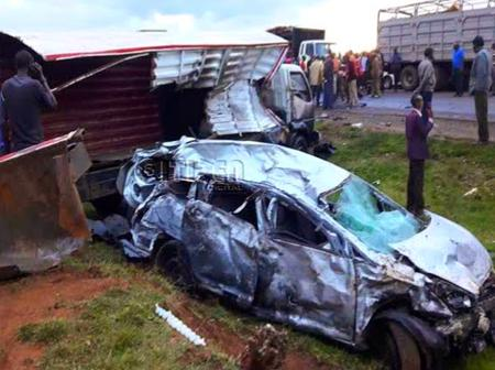 List Of Accident Black Spots In Kenya That You Should Be Cautious About