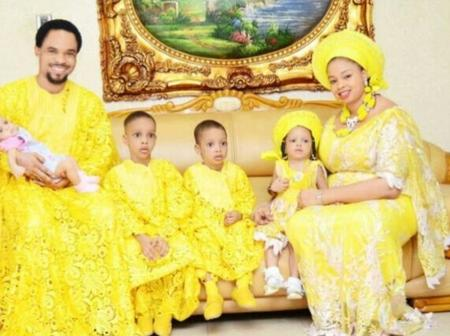 Meet Prophet Chukwuemeka Odumeje's Beautiful Wife And His 4 Lovely Children (Photos)