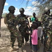 What Kenya Army Was Doing With These Kids That Has Left Kenyans Talking