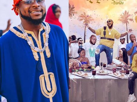 A Year Ago, 'A Good Time' Album Was Released. See The Records Davido Made With The Album