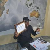 Former President Of Nigeria, Goodluck Jonathan Wins Another International Award