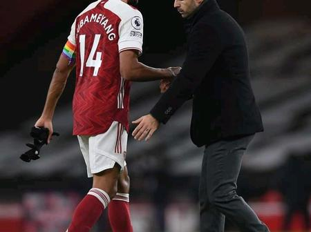 Trouble At The Emirates As The Main Reason Why Aubameyang Is Missing From Match Day Squad's Revealed