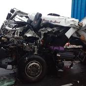 Trucks collide on the N3 this morning, driver dies