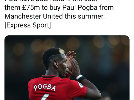 Is Paul Pogba really worth his price tag, See the huge sum of money PSG has to pay to sign Pogba