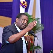 I do not Need to be Endorsed by Raila to Win the Presidency - Mudavadi