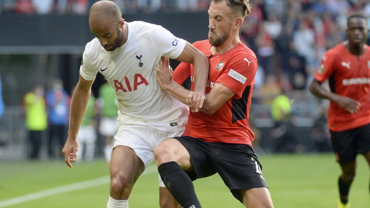 football/ligue europa conférence. Rennes tient tête à Tottenham