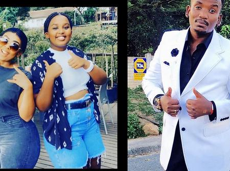 Nonku Williams' daughter is really Sifiso Ncwane's child. [Check out how much they look alike.]