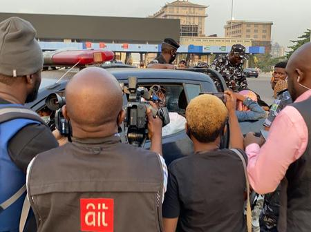 See Latest Photos And Videos From Occupy Lekki Toll Gate Protest